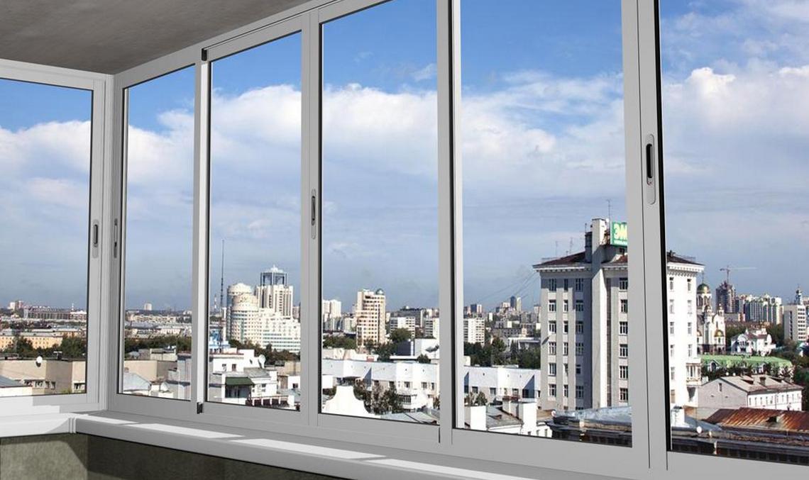 Алюминиевые балконы софос - раздвижная конструкция - купить .